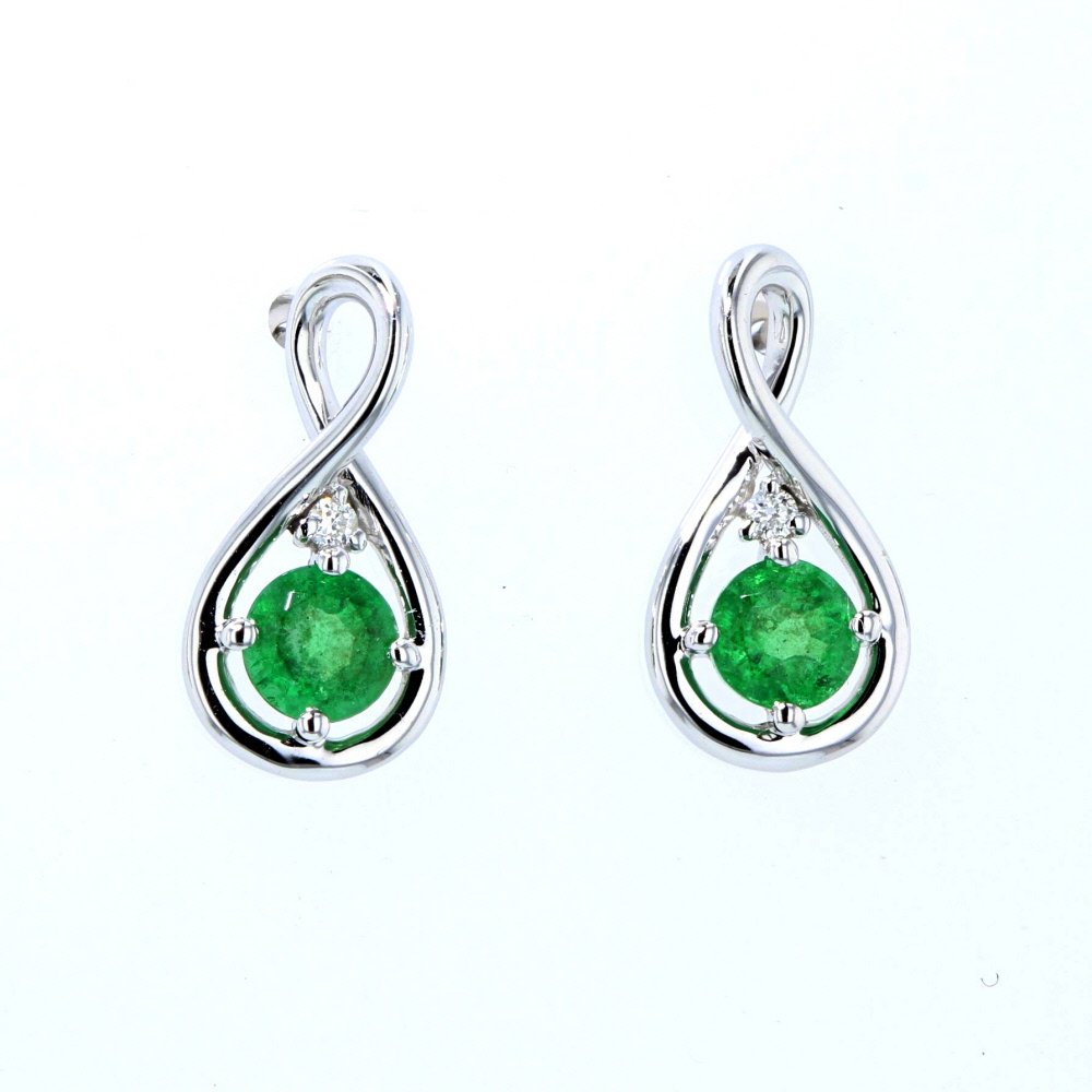 Colored Stone Earrings 001 210 01374 From Ballard Fountain Valley Ca